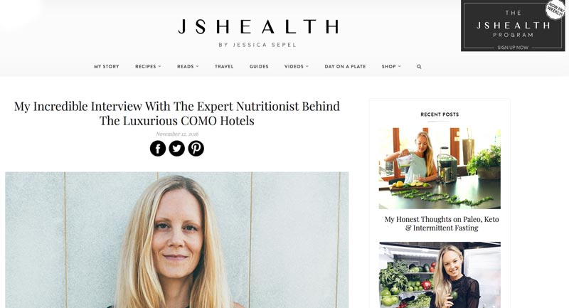 Eve Persak Press - JS Health November 2016