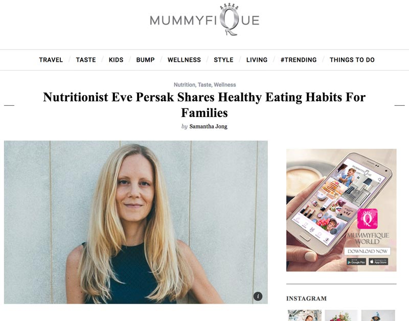 Eve Persak Press - Mummyfique October 2016