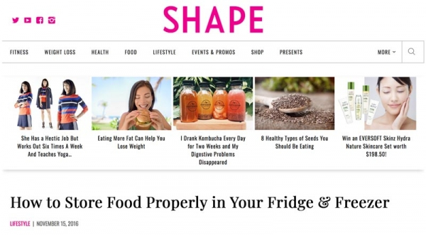 Eve Persak Press - Shape November 2016