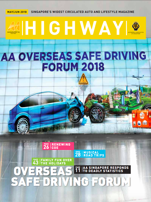 Highway May 2018 - Press for Eve Persak