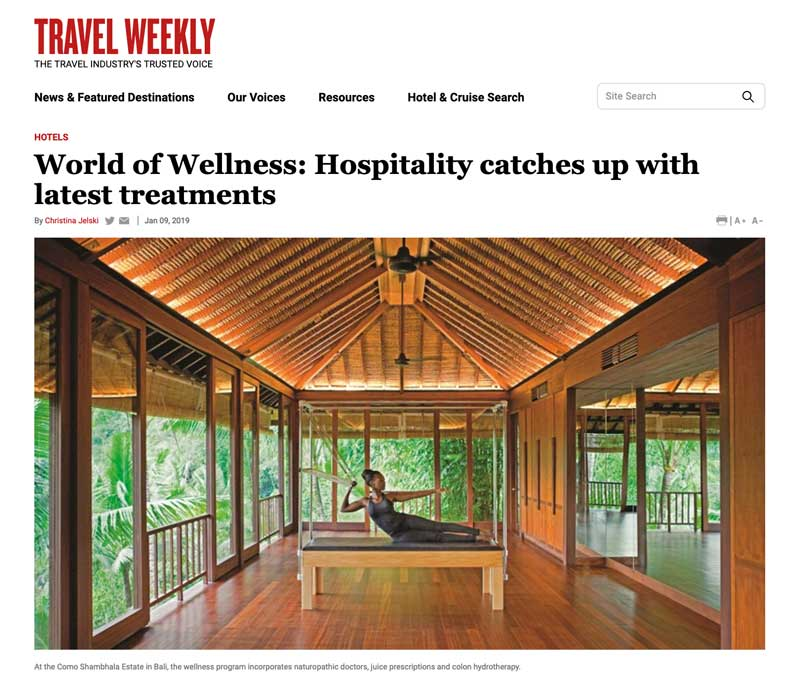 Travel Weekly January 2019 - Eve Persak Press